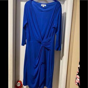Beautiful royal blue dress size 14